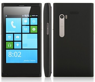 SALE!! 3,5 inch Tile-Android dual sim smartphone 1 ghz   zwart  E 49!!*