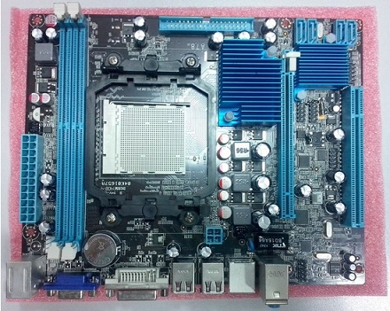 AM2/AM3 DDR2 A78LM2 AMD 780G/SB700 all in one mainboard, VGA/DVI
