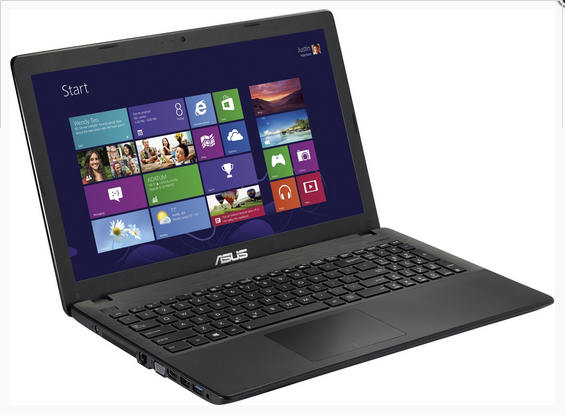 WEEKEND! ASUS 15,6 inch Notebook (Renewed) dual core 1007U 500GB/4GB/Cam Windows 8
