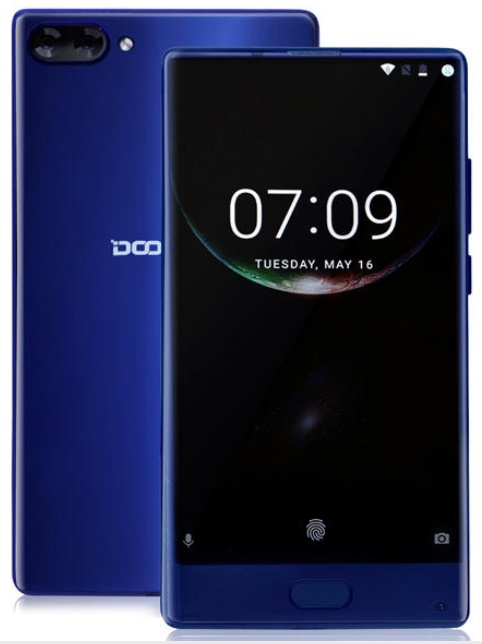 Doogee MIX 5,5 inch Android 7 4GB/64GB smartphone, dual cam 8core 2,5 ghz...