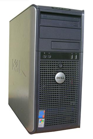 Dell Optiplex GX520 tower Pentium 4 Dual Thread 3,2 ghz + 80GB/2GB/DVDRW E 33
