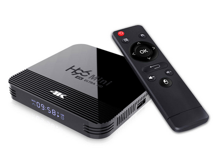 KERSTKADO! Quad Core TV Box Android 9 met 2GB geheugen 16GB opslag