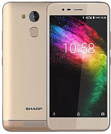 SHARP smartphone 5,2 inch 3GB/32GB Android 7 topper...