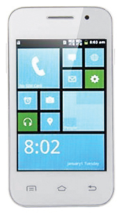 SALE! 3,5 inch wit tile android smartphone... dual sim 1 ghz ... maar E 49*