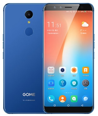 ACTIE!! BLUE IPHONE 10 KILLER!! 5,99 inch Smartphone 4GB/64GB/NFC/Iris scan/3 SONY cams