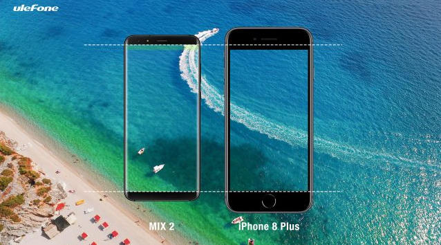 MIX Bezel-less Smartphone 5,7 inch 18:9 Dual Camera Android 7.0